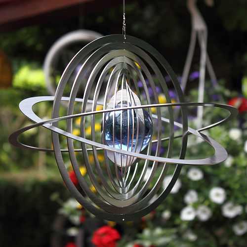 Windspiele mit und ohne Glaskugeln