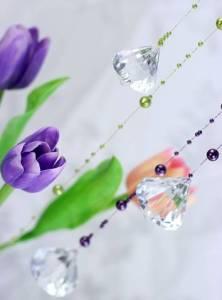 Diamant zum hängen - tolle Hängedeko