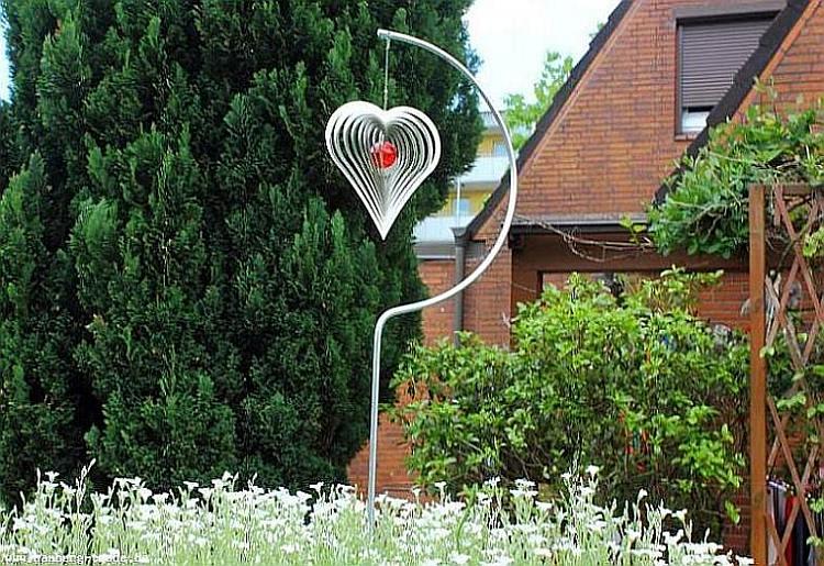 gartenstecker windspiel | allerlei-deko.de, Design ideen
